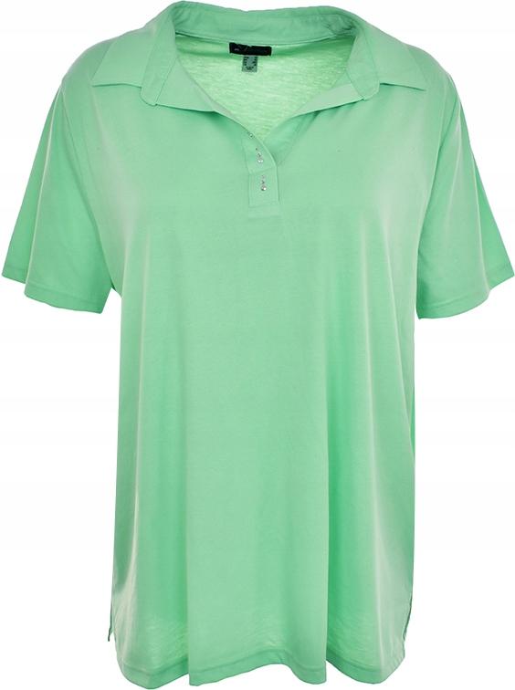 mAI5229 zielona koszulka polo 52