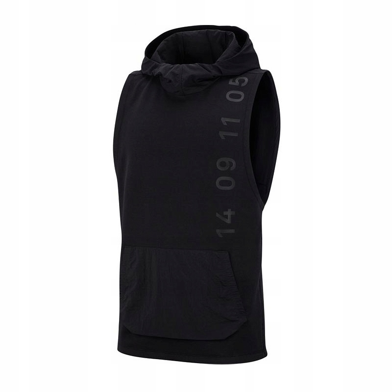 Nike Therma Hooded Bezrękawnik 010 S 173 cm