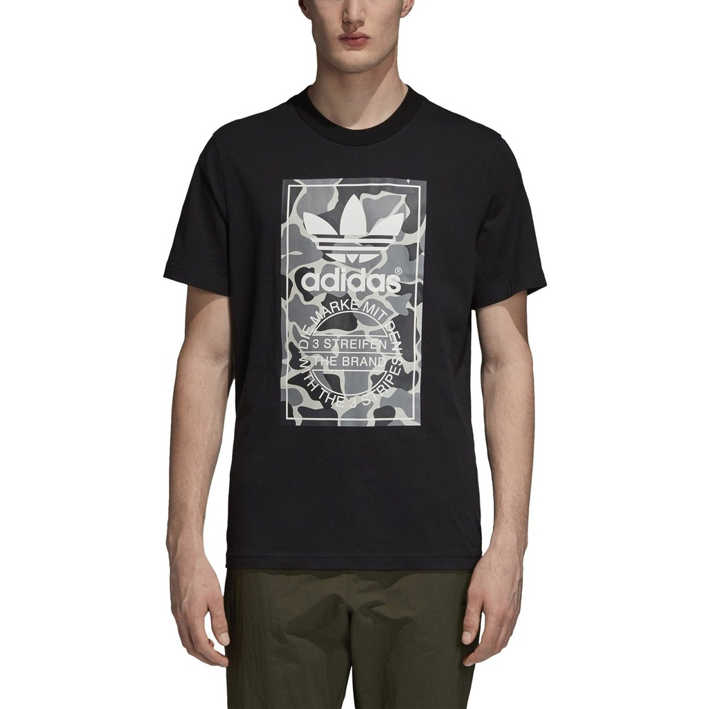 T SHIRT ADIDAS CAMOUFLAGE TONGUE LABEL DH4769 r M