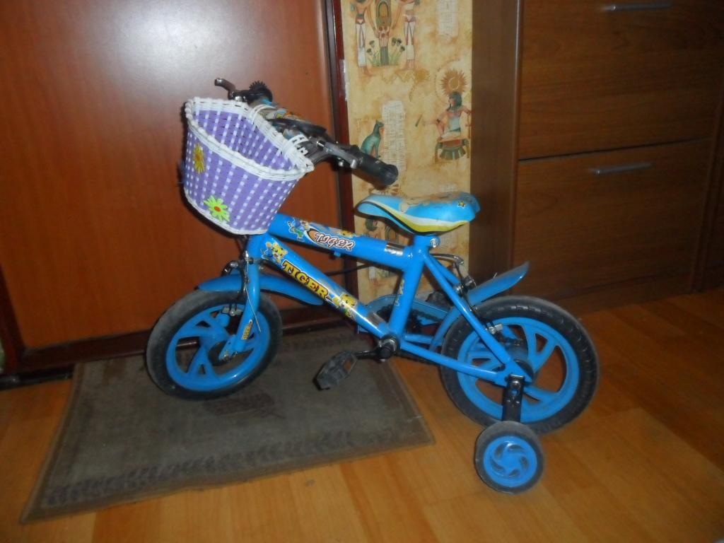 Rowerek dzieciecy niebieski dla WOŚP