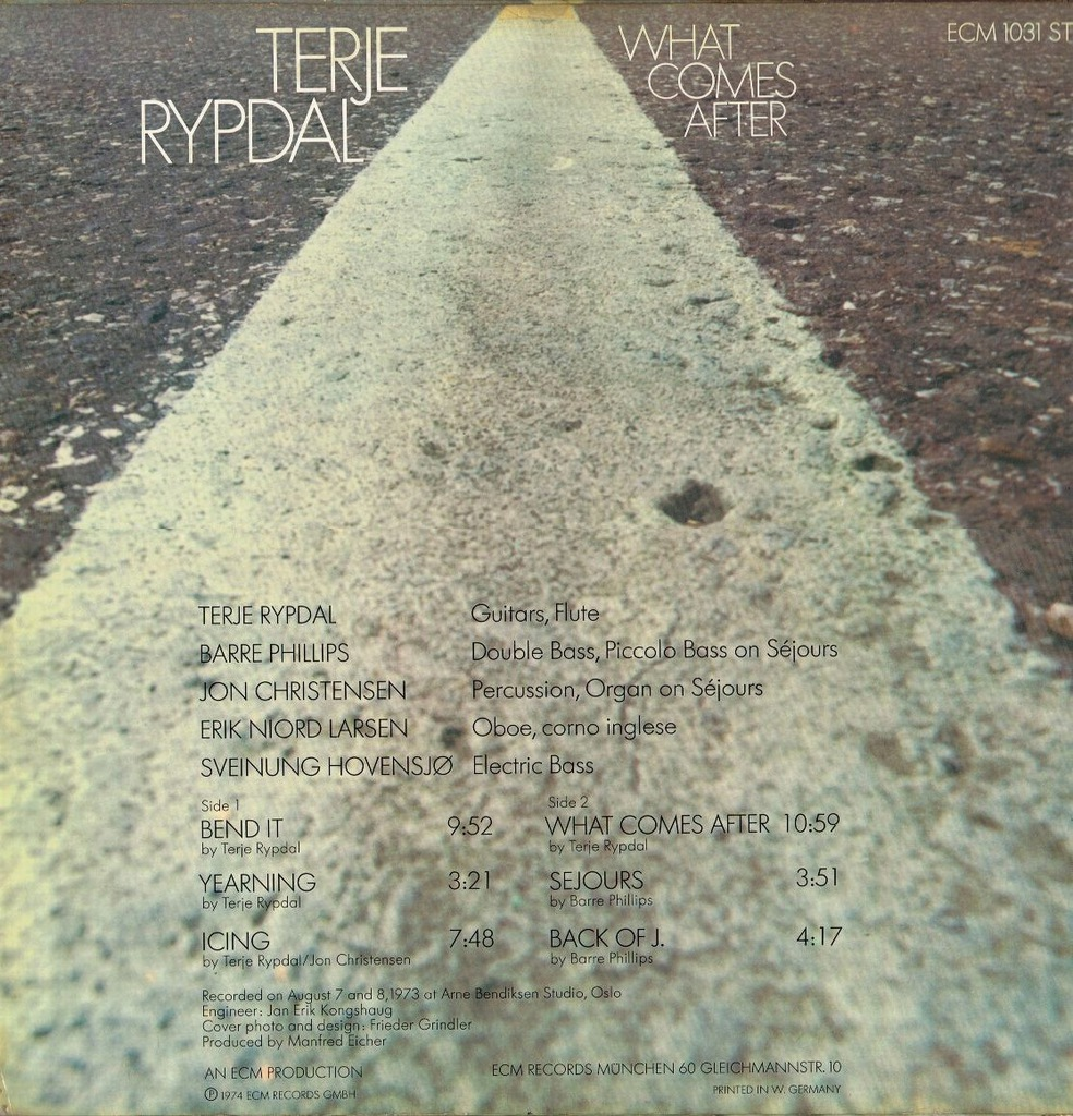 Terje Rypdal - What Comes After - winyl