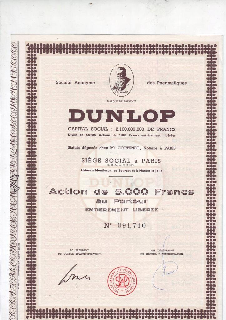 DUNLOP opony