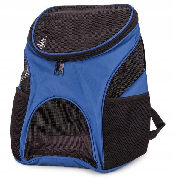 Plecak transporter dla kota psa niebieski