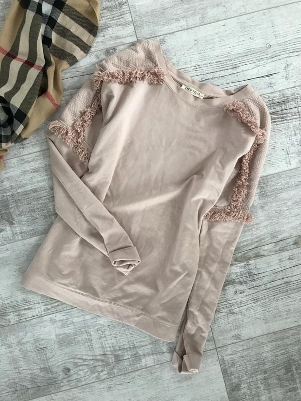 MARKS SPENCER śliczna pudrowa bluza 40 L