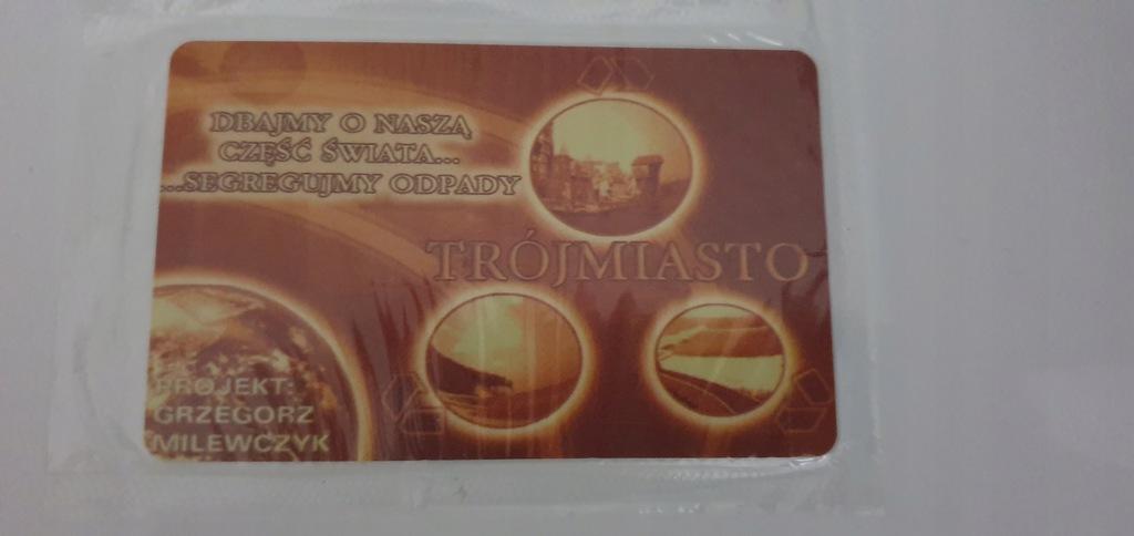 Karta kolekcjonerska CHIP TRÓJMIASTO