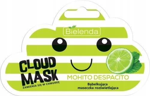 BIELENDA Cloud Mask Bąbelkująca Maseczka rozświetl