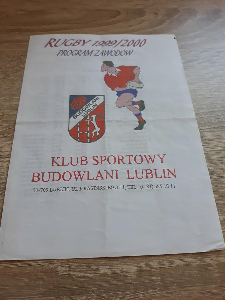 Rugby - Budowlani Lublin , program 1999 rok