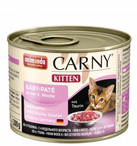 KARMA ANIMONDA Carny Baby pasta mięsna od 12 tyg.