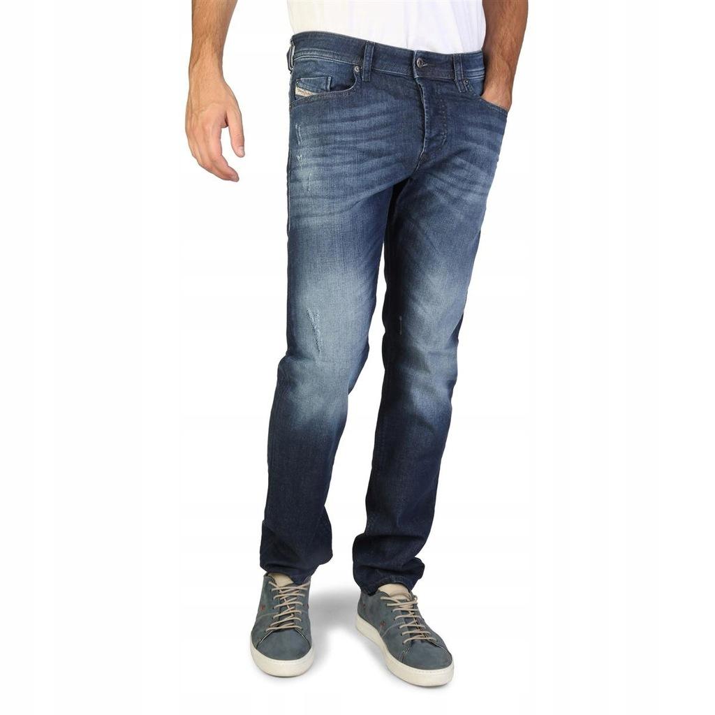 Diesel męskie spodnie jeans BUSTER niebieski 30