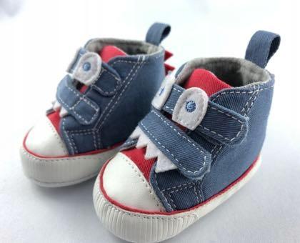 Buty niemowlęce niechodki 16 trampki in extenso
