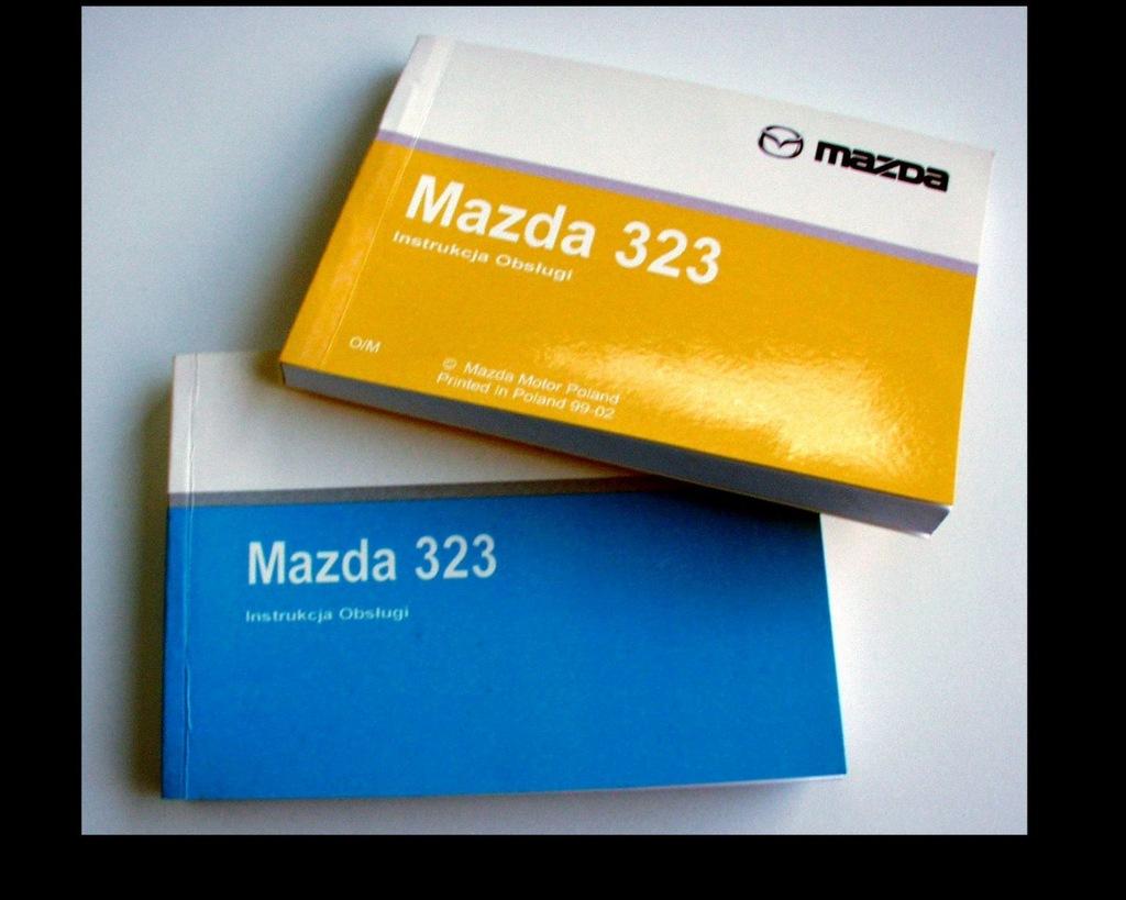 MAZDA 323 BJ (1998-2003) - instr obsługi j. polski
