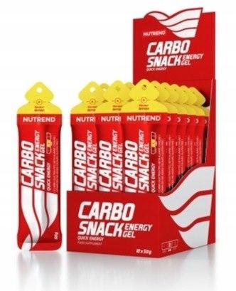 Żel Energetyczny Carbosnack Nutrend Tubka Cytryna