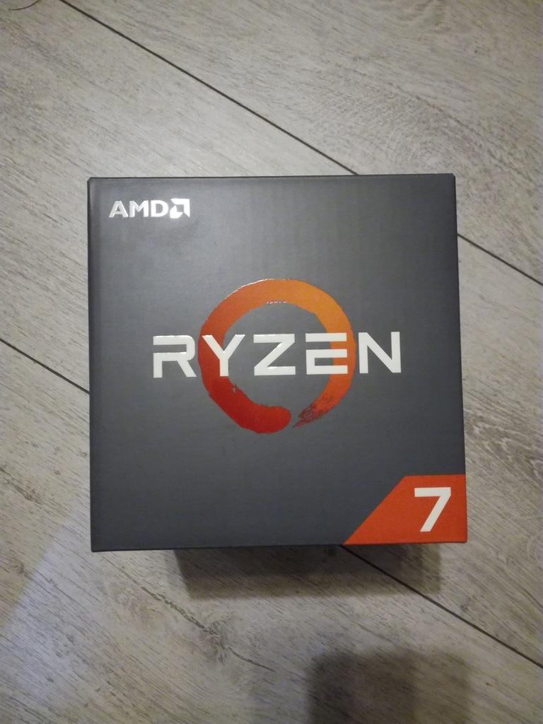 Procesor AMD Ryzen 7 1700 Socket AM4 BOX gwarancja