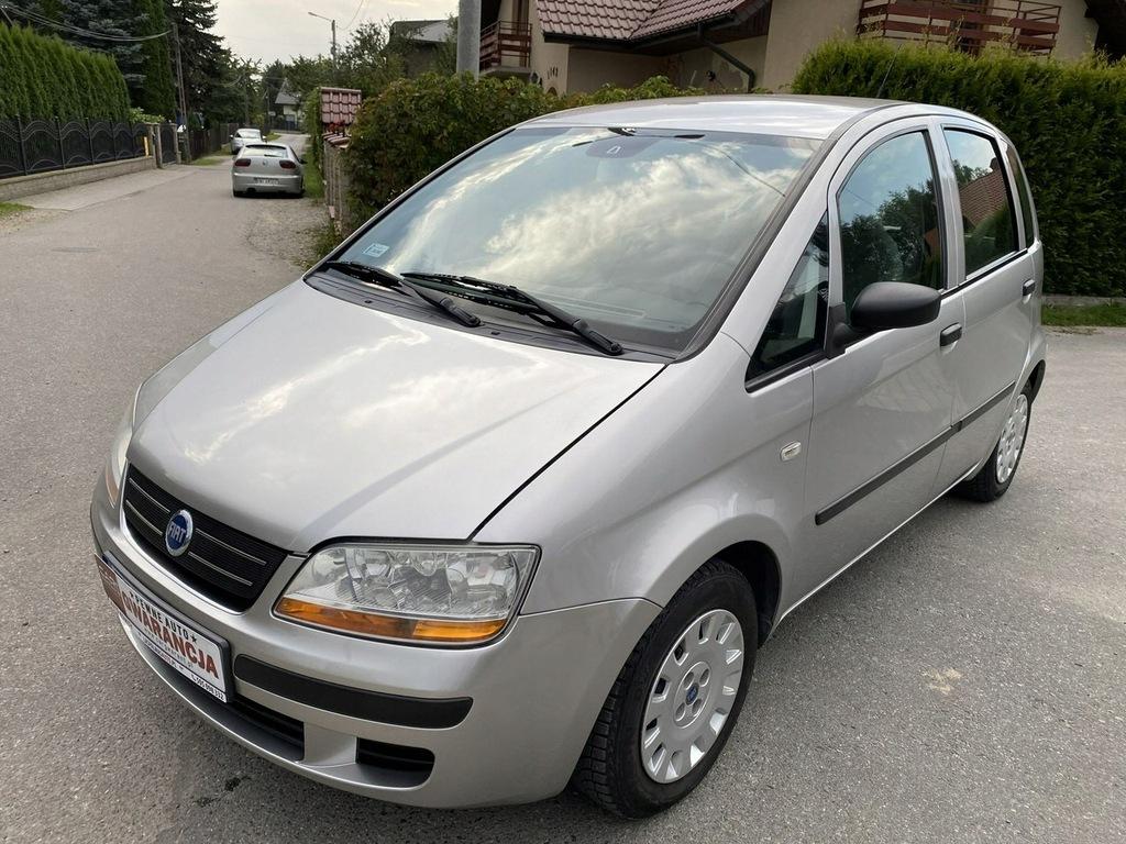 Fiat Idea Raty Zamiana Gwarancja 1,4 benzyna