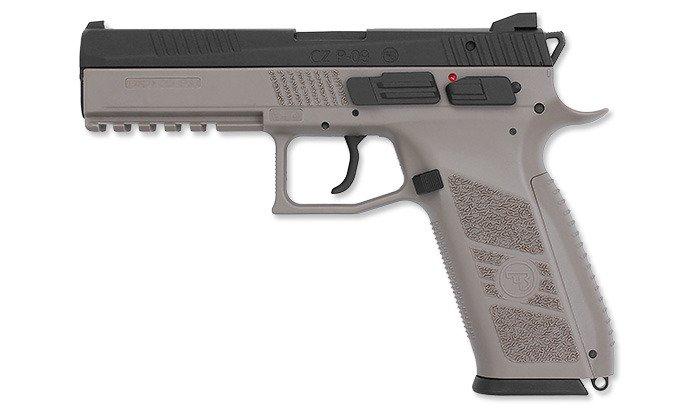 Replika pistoletu ASG CZ P-09 GBB FDE + Walizka