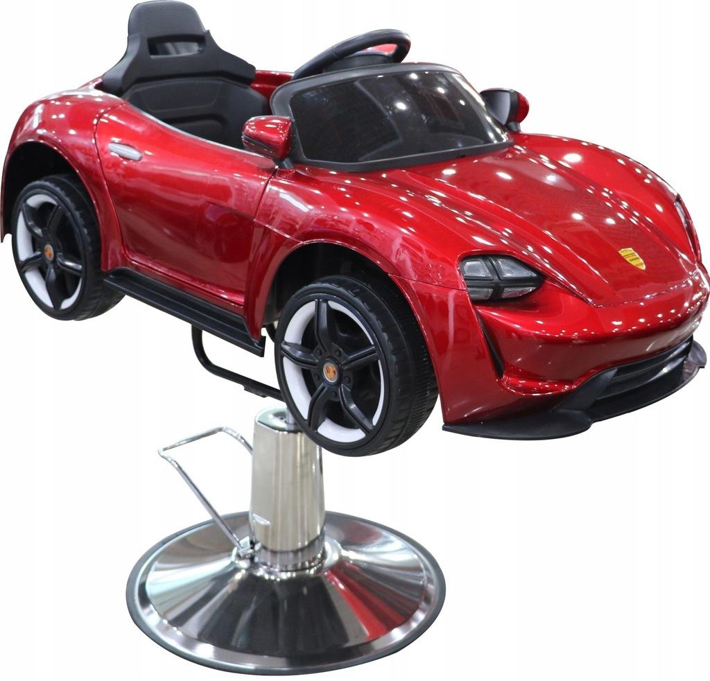 Fotel fotelik fryzjerski Dziecięcy Samochodzik