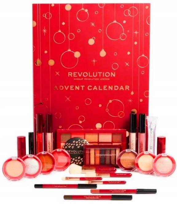 Makeup Revolution Kalendarz Adwentowy Zestaw 2019 8592682332 Oficjalne Archiwum Allegro
