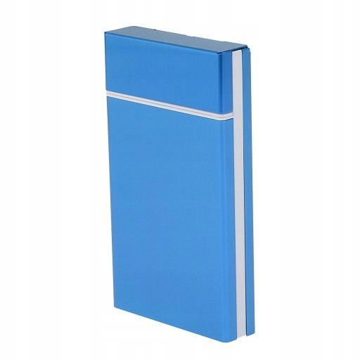 Palenie papierośnica - Niebieski