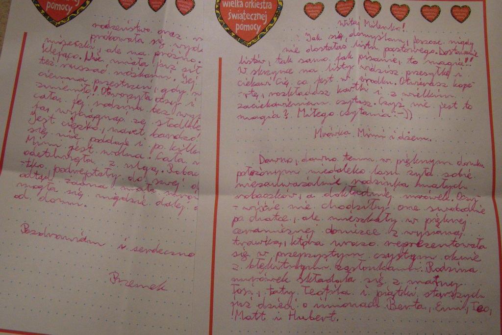 List do Twojego dziecka!