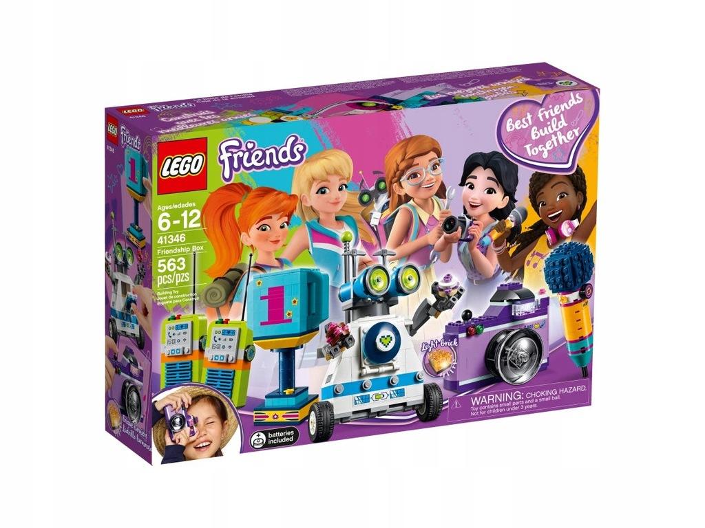 LEGO FRIENDS KLOCKI PUDEŁKO PRZYJAŹNI 41346