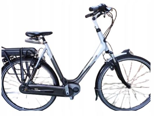 Rower elektryczny Gazelle Orange na Boschu. D 61