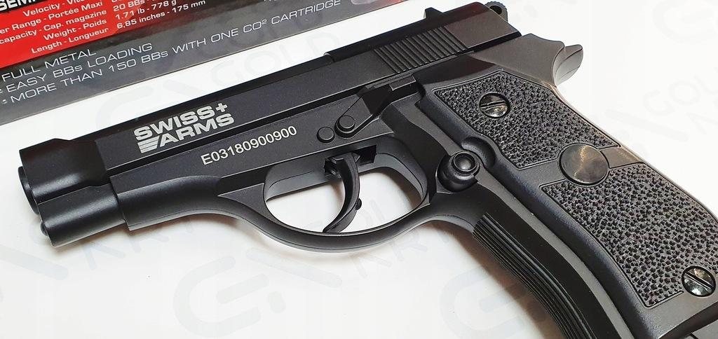 Wiatrówka Pistolet Swiss Arms P84 Full Metal 4,5mm