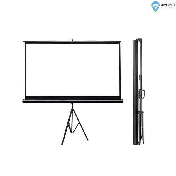 Ekran projekcyjny na statywie 186x105 (84'', 16:9)