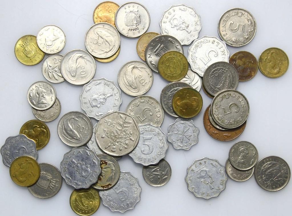 LOT - Malta - 50 monet - zestaw D