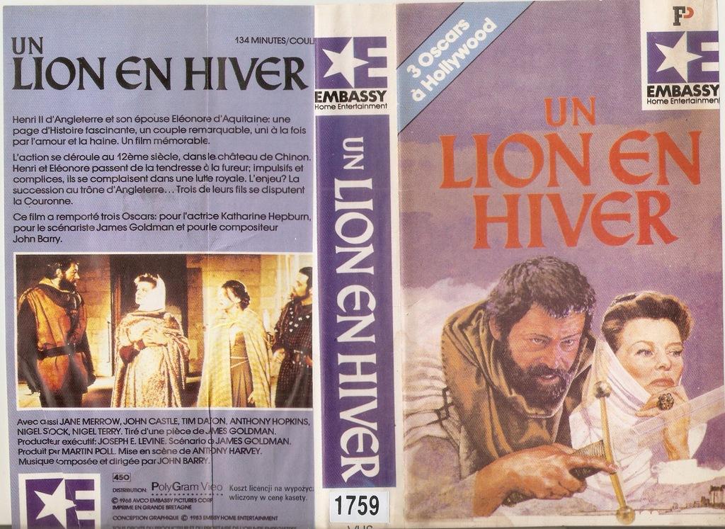 Zima Lwa - VHS