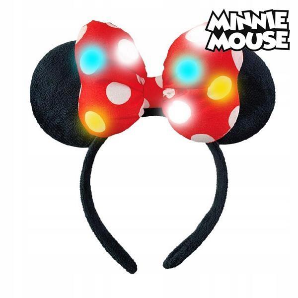 Diadem Minnie Mouse 71125 LED Czarny Czerwony