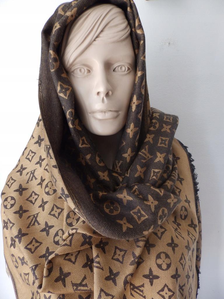 Louis Vuitton Paris Italia Silk Welna 401910 8273465875 Oficjalne Archiwum Allegro
