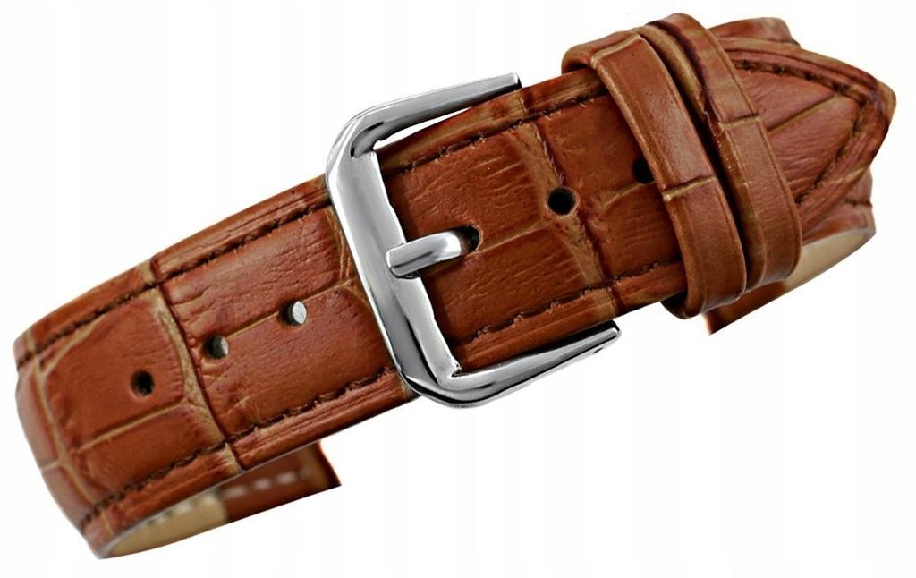 Pasek do zegarka - Skóra 20 mm 20K10 Brązowy