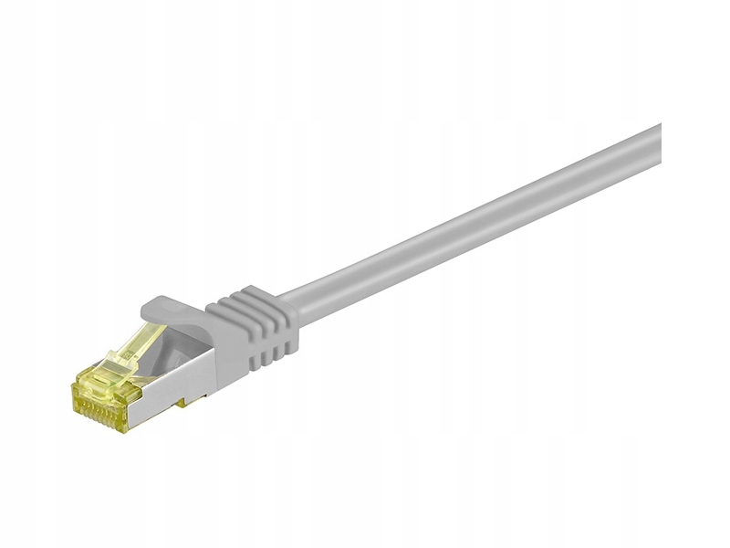 Kabel Patchcord CAT 7 S/FTP PIMF 7.5m szary