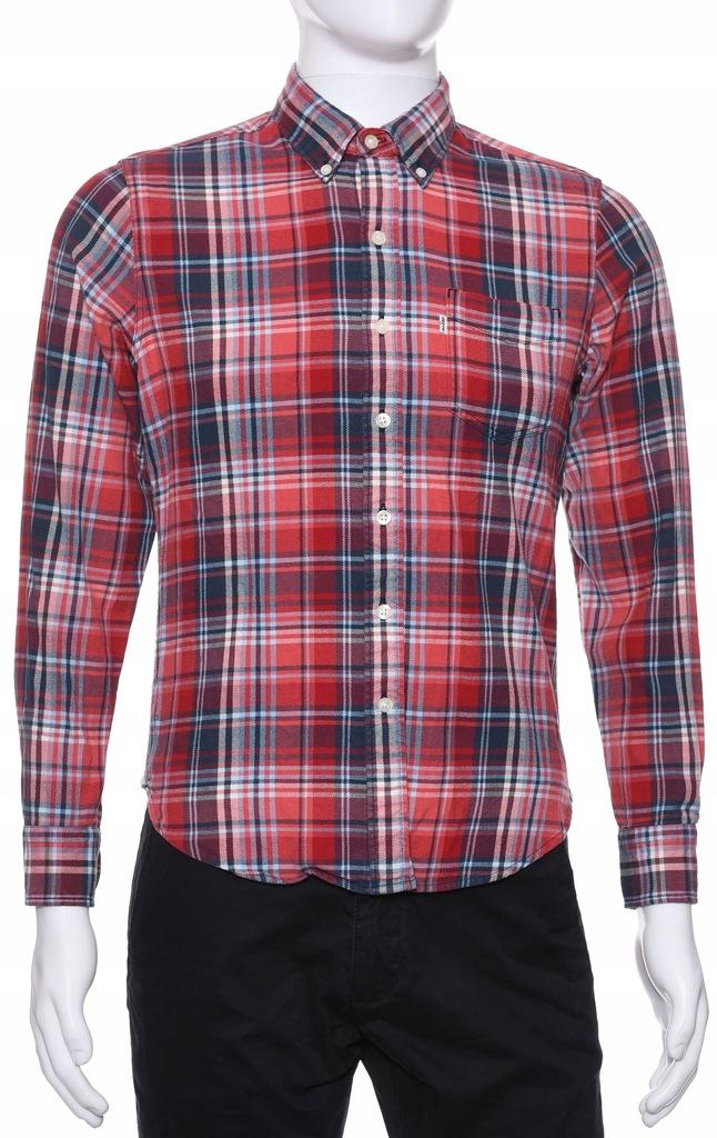 LEVI'S flanelowa koszula w kratkę SLIM FIT S k 39