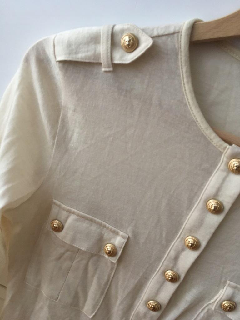 balmain vitkac cream nude moliera wool military