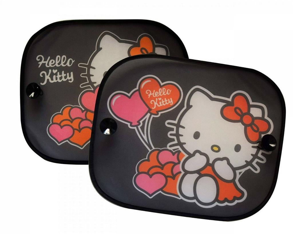 AZ Zasłonki przeciwsłoneczne 2szt Hello Kitty