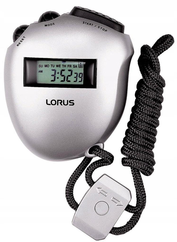 Zegarek LORUS R2375AX9 datownik stoper nowy
