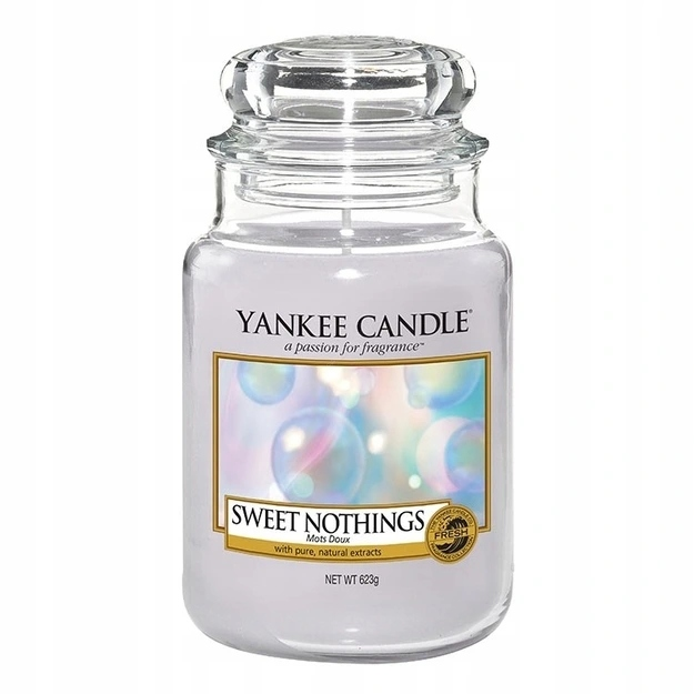 YANKEE CANDLE ŚWIECZKA Sweet Nothings 623g