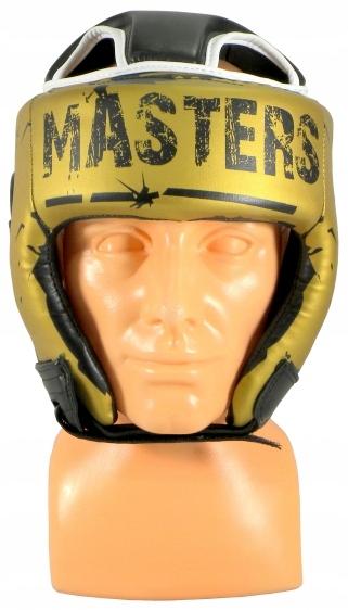 Kask bokserski KTOP-PU-MASTERS złoty M