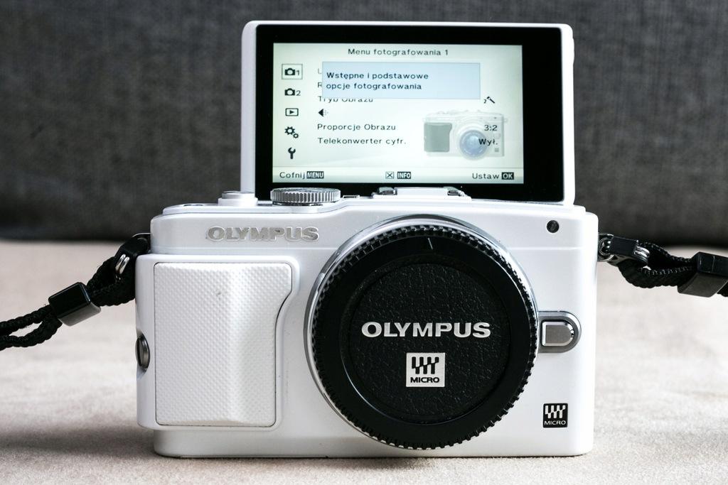 Olympus PEN E-PL6 | 16MP dotykowy ekran