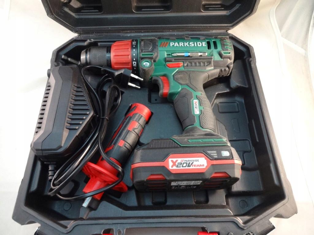 Wkrętarka Akumulatorowa Parkside PSBSA 20-Li B2