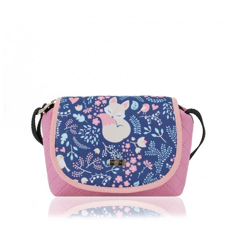 Mohito Mała torebka w róże Wielobarwny damski