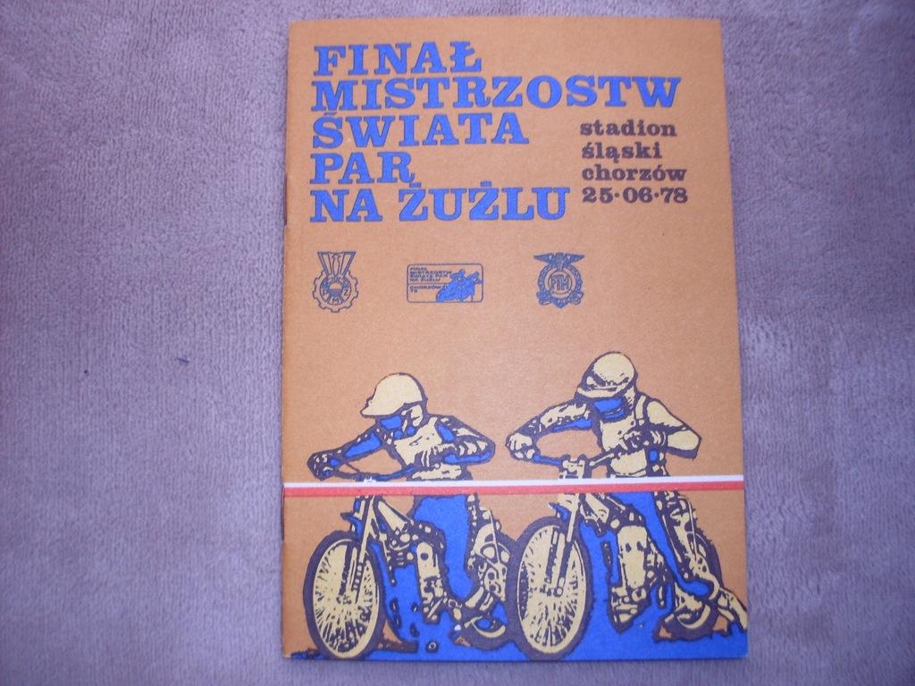 1978 Finał MŚPar Chorzów - czysty
