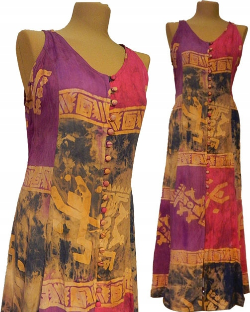 Eko Piekno: Zakupy dwóch sukienek i spódnica indyjska :)