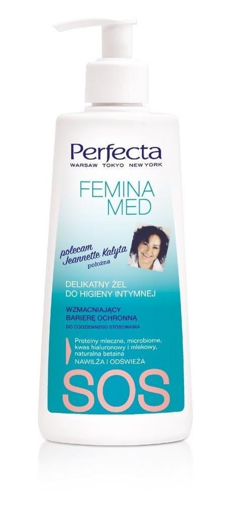 Perfecta Femina Med SOS Delikatny Żel wzmacniający