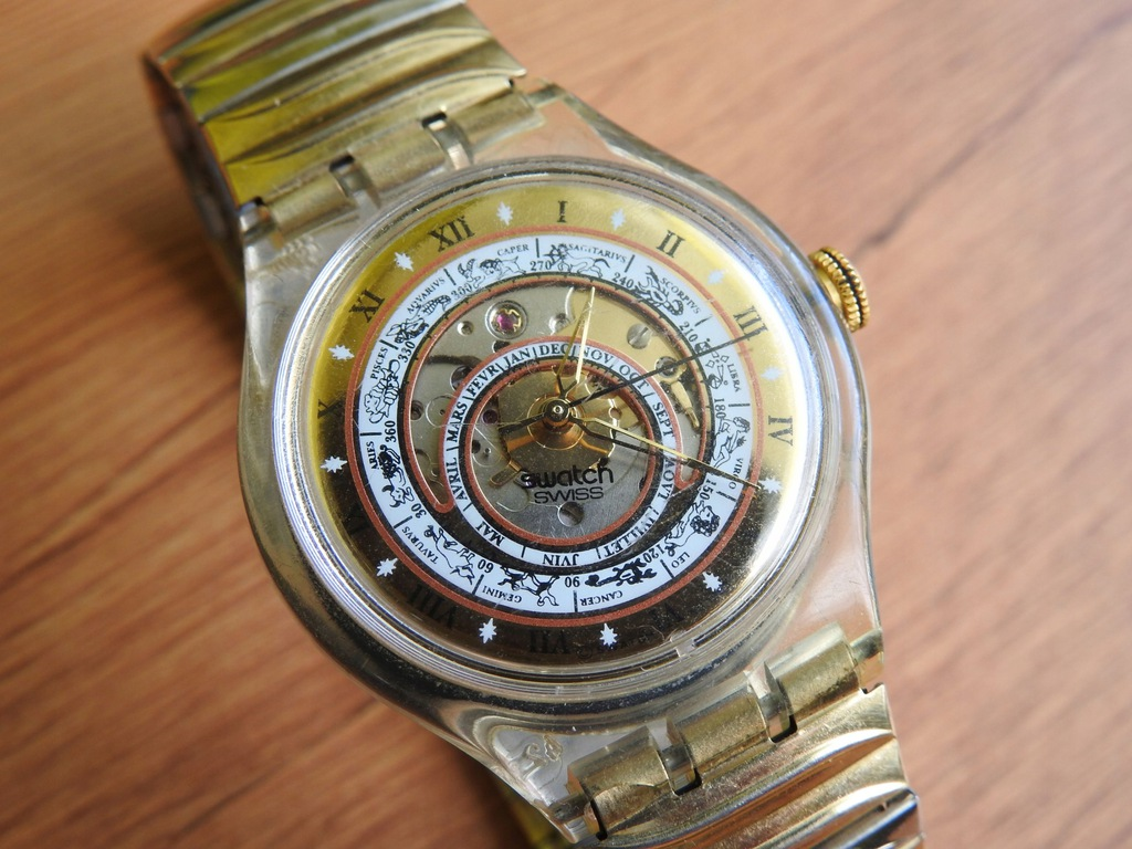 Swatch Automatic zegarek automatyczny