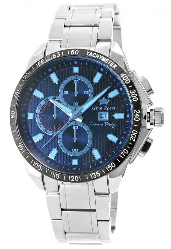 Zegarek Męski Gino Rossi 9153B-6C2