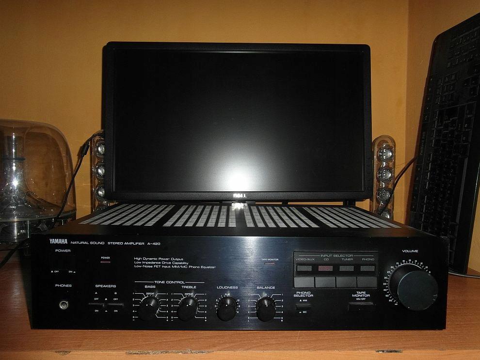 Wzmacniacz stereo YAMAHA A-420 2x50W 8ohm Japan!!!