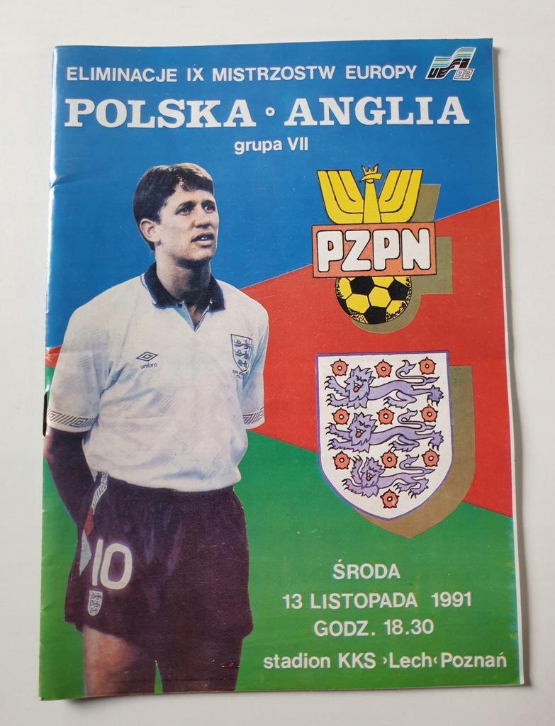 PROGRAM POLSKA - ANGLIA 1991