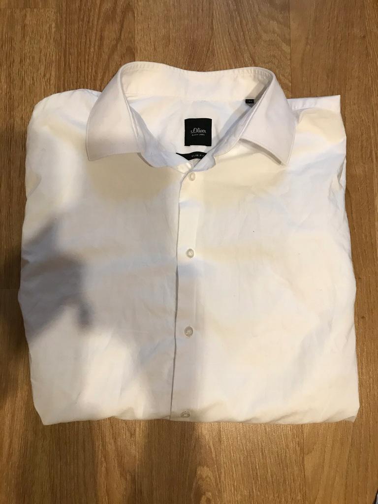 Koszula męska biała s.Oliver L 41